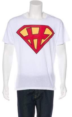 Valentino Superman Graphic T-Shirt