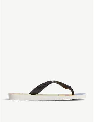 9a1176c2f3f0 at Selfridges · Havaianas Simpsons printed rubber flip-flops