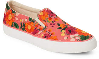 Keds Pink Anchor Rifle Paper Slip-On Sneakers