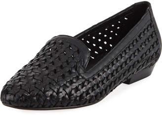 Sesto Meucci Nefen Woven Flat Loafer