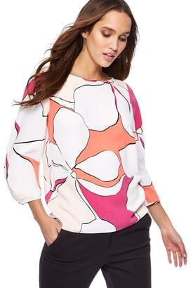 Principles Multi-Coloured Floral Print Top