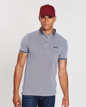 Superdry City Oxford SS Pique Polo