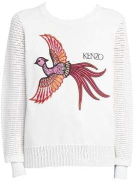 Kenzo Mesh Embroidered Sweater