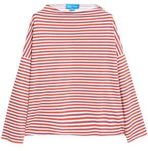 MiH Jeans Extra Striped Cotton-Jersey Top
