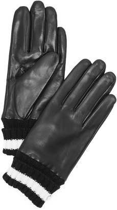Kate Spade New York Short Knit Cuff Gloves $118 thestylecure.com