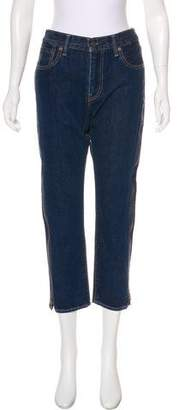 Levi's Zip-Accented Mid-Rise Jeans