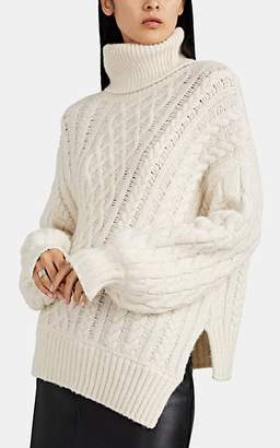 A.L.C. Women's Nevelson Chunky Cable-Knit Sweater - White