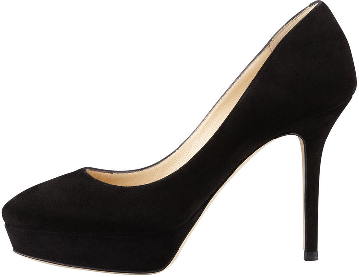 Jimmy Choo Aster Suede Low-Ranger Pump