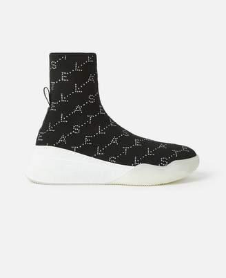Stella McCartney Loop Monogram Sneakers, Women's