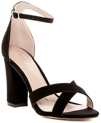 Madden Girl Briin Crisscross Sandal - Wide Width Available $49 thestylecure.com