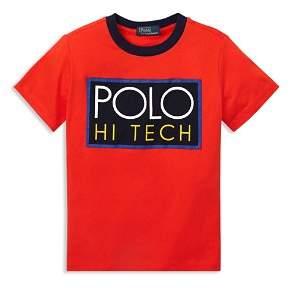 Ralph Lauren Boys' Polo Hi Tech Tee - Little Kid