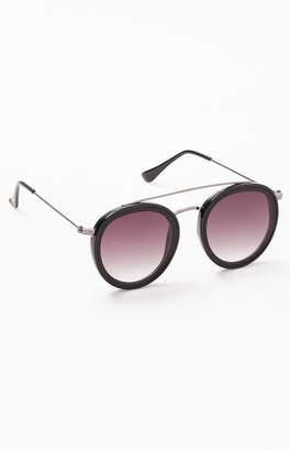 c07718725826f No Top Bar Aviator Sunglasses - ShopStyle