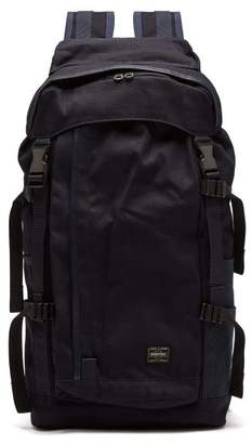 Porter-yoshida & Co. - X Airweave Canvas Backpack - Mens - Dark Blue