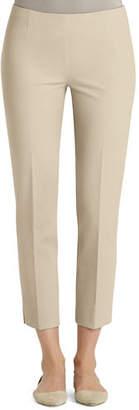 Lafayette 148 New York Jodhpur Cloth Cropped Pants, Ink