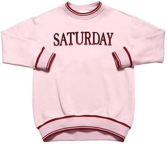 Alberta Ferretti Saturday Sequins Cotton Sweatshirt
