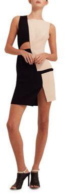 AQ/AQ Lottie Cut-Out Mini Dress $155 thestylecure.com