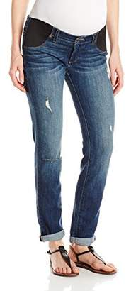 d25c3fa020cb6 Paige Women's Maternity Jimmy Skinny with Elastic Insets in