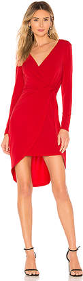 BCBGeneration Twist Surplice Dress