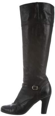 NDC Brogue Knee-High Boots