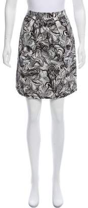 Peter Som Printed Knee-Length Skirt