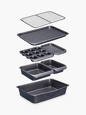 Master Class Non-Stick Stacking Bakeware Set, 7 Pieces