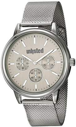 Unlisted Watches Men's 'Sport' Quartz Metal and Stainless Steel Dress Watch