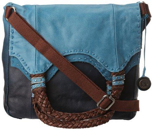 The Sak Indio Foldover Leather Shoulder Bag