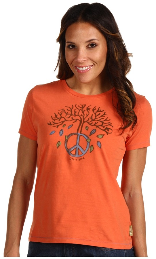 Life is good - Tree Peace Good Karma Organic Tee