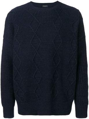 Roberto Collina textured pattern jumper