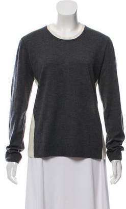 Rag & Bone Scoop Neck Wool Sweatshirt