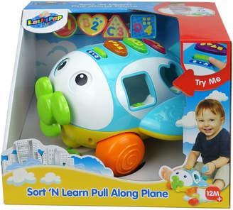 N. Lollipop Toys Sort Learn Pull Along Plane Toy