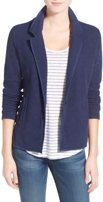 Caslon One-Button Knit Blazer