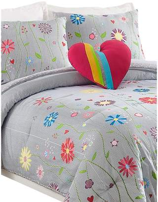 Jessica Simpson Growing Garden 4-Piece Floral Comforter Set