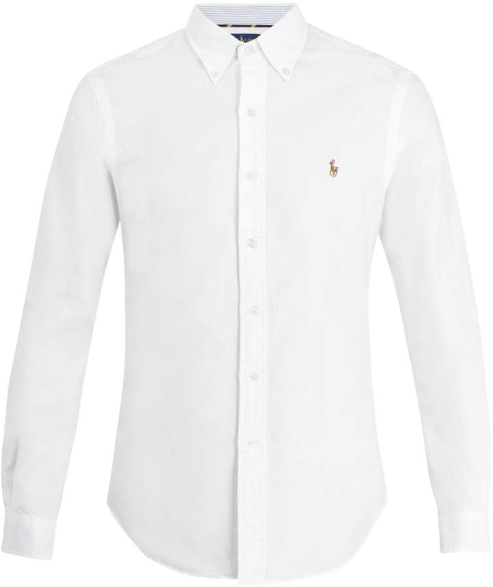 Polo Ralph Lauren Logo-embroidered cotton-oxford shirt