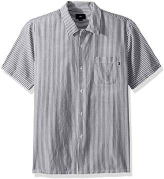 Obey Men's Avalon Short Sleeve Button up Woven