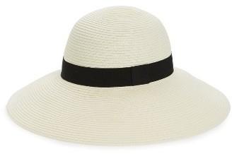 Women's Halogen Floppy Hat - Ivory $39 thestylecure.com