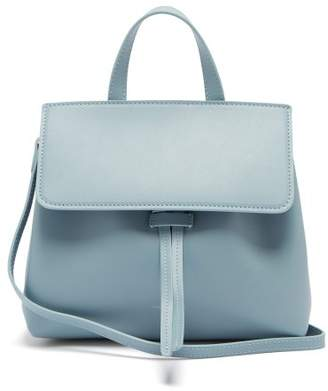 Mansur Gavriel Mini Mini Lady Leather Cross Body Bag - Womens - Light Grey