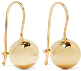 Lee Grace Tama 14-karat Gold Earrings - one size