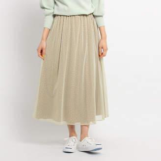 Dessin (デッサン) - Dessin(Ladies) 【洗える】チュールドットスカート