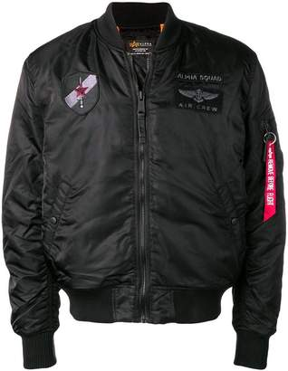 Alpha Industries bomber loose jacket