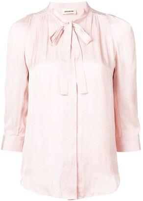 Zadig & Voltaire Zadig&Voltaire ruched blouse