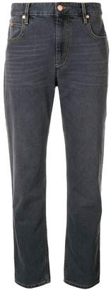 Etoile Isabel Marant cropped straight-fit trousers