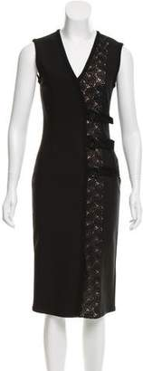 Yigal Azrouel Guipure Lace Sheath Dress