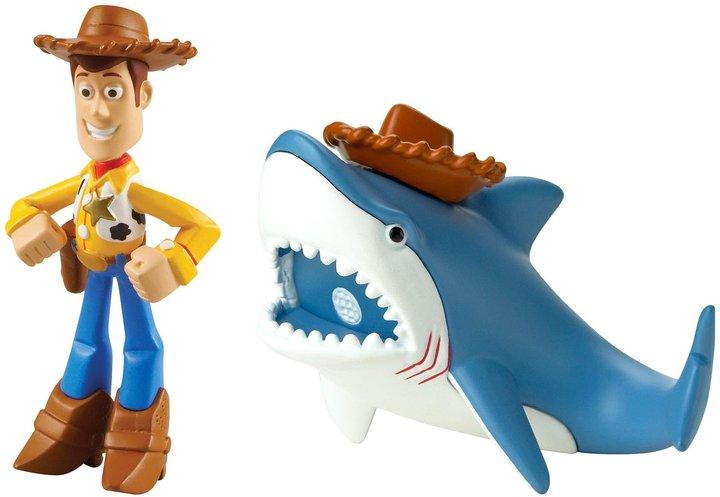 Disney/Pixar Toy Story 20th Anniversary Woody and Shark Figure Buddy 2-Pack