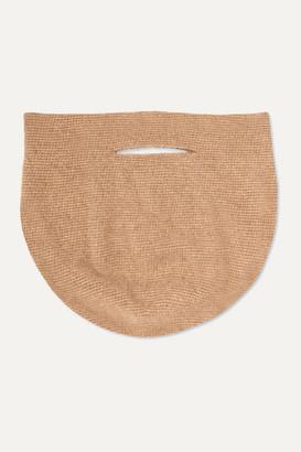 LAUREN MANOOGIAN Bowl Wool Tote - Brown