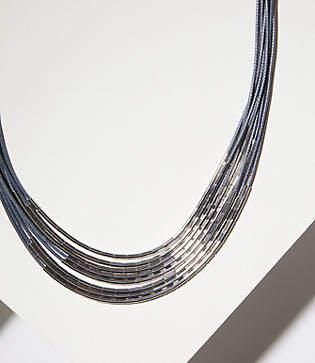 LOFT Multistrand Tube Necklace