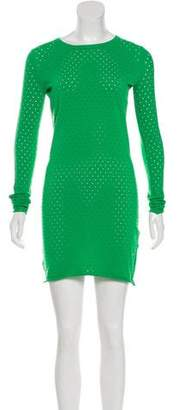 Acne Studios Laser Cut Mini Dress
