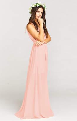 Show Me Your Mumu Ava Maxi Dress ~ Frosty Pink Crisp