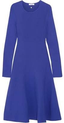 Thierry Mugler Fluted Stretch-Knit Dress