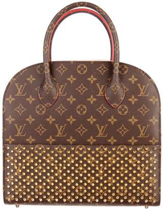 Louis Vuitton x Christian Louboutin Iconoclast Tote Monogram Brown/Red